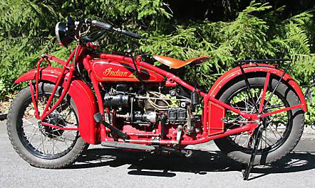 1930 Four L red