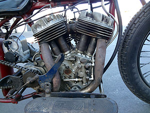 1939 Hillclimber R engine