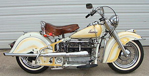 1940 Four w Glide front end R side
