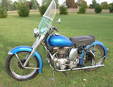 1951 Warrior blue decker