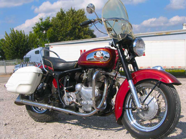 1960 Indian Chief red R side from Michaels Motorcycles