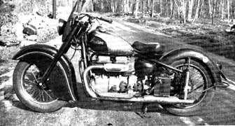 1945 Experimental Solo Four